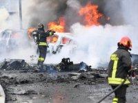 Özel uçak düştü: 8 ölü
