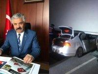 Emniyet müdürü ve oğlu, kazada hayatını kaybetti!