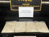2 kilo.200 gram metamfetamin ele geçirildi