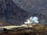 PKK kamplarına top atışı