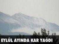 Erzincan'a kar yağdı