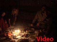 Hakkari'de açlık grevine mumlu destek