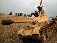 Barzani Tanklarla Kerkük'te