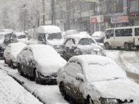 Gever'de kar yağışı