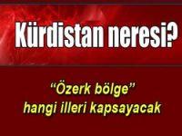 Kürdistan neresi..?