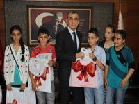 Hakkari'li öğrenciler Adana'da