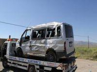 Trafik kazası 10 yaralı...