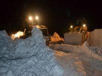 Kayak merkezi yolu açıldı