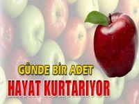 Elma hayat kurtarıyor