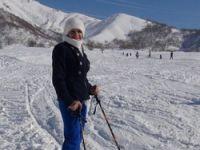 Şemdinli'de kayak heyecanı