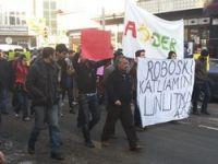 Ardahan'da roboski protestosu