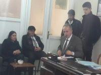 Başkan adayı Hatipoğlu Keskin'i ziyaret etti