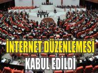 İnternet yasası kabul edildi