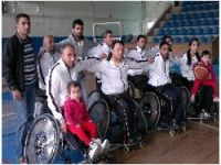 Sümbül engellilerden galibiyet