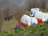 Meskan'daki çadır yakılmadı