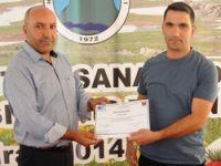 KOSGEB 30 kursiyerine sertifika verdi