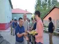Sınır'da bayram kutlamaları
