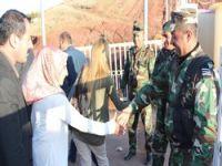 Başkan Özdemir sınırda açıklama yaptı