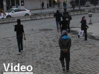Hakkari'de  gever gerginliği 1 gözaltı