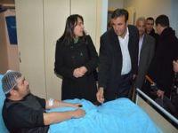 Hatipoğlu basına yapılan saldırıyı kınadı