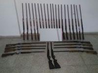 Yüksekova'da 30 adet Av tüfeği ele geçirildi