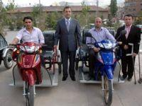ENGELLİLERİN MOTOSİKLET SEVİNCİ