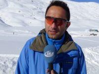 2800 rakımda kayak yarışması yapıldı