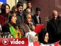 Öcalan'a özgürlük için onbinler yürüdü