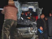 Van-Hakkari karayolunda trafik kazası; 10 yaralı