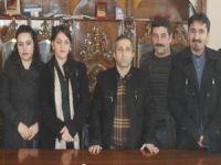 HDP yönetimi Hakkarihabertv'yi ziyaret etti