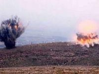 Savaş uçakları PKK kamplarını bombalıyor!