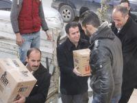 Hakkari'den Kobane'ye yardım eli