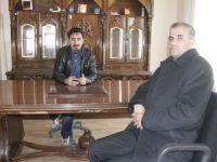 Mersin Hakkarililer derneği başkanı Kurt'tan İHA'ya ziyaret