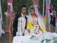 Hakkari'de Madenci kardeşine görkemli düğün