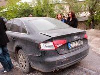 HDP Milletvekili adayı Irmak'ın seçim konvoyunda kaza