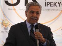 Arınç'tan HDP'ye yönelik saldırıya kınama