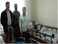 Hakkari'de 5 engelli için yeni yataklar alındı
