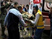 Meskan dağına yıldırım düştü 5 asker yaralı