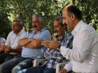 Akdoğan Ağaçdibi köyünü ziyaret etti