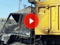 PKK, Erzurum'da 17 iş makinesi yaktı
