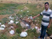 Otluca köyü piknikçiler tarafından kirletiliyor