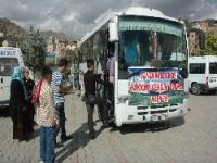 Gençler Çanakkale'ye uğurlandı