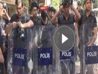 Polis İHD ve DBP binasına baskın yaptı 10 gözaltı