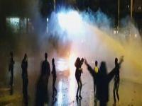 Hakkari Kıranda göstericiler polisle çatıştı