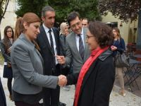 Eş Başkan Vekilleri Fransa anma törenine katıldı