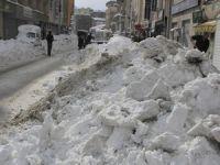 Hakkari'deki kar esaretinin ardından