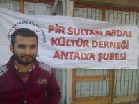 Kürt gençleri Antalya'da açlık grevine girdi