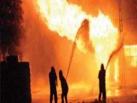 Erbil'de otel yangını: 19 ölü