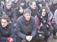 Hakkari'de Cizre olayı protesto edildi