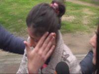 10 aylık bebeklerini çift aile yakalandı